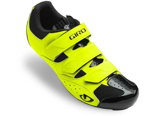 Giro Techne Shoes Men highlight yellow